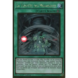 PGL3-FR085 La Tempête des Monarques Gold Rare Quick-Play Spell Card