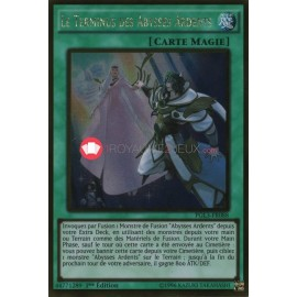 PGL3-FR088 Le Terminus des Abysses Ardents Gold Rare Normal Spell Card