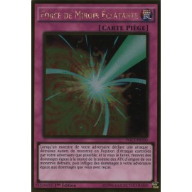 PGL3-FR100 Force de Miroir Éclatante Gold Rare Normal Trap Card