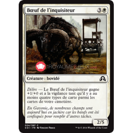 SOI-24/297 Bœuf de l'inquisiteur Inquisitor's Ox Créature