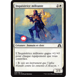 SOI-26/297 Inquisitrice militante Militant Inquisitor Créature