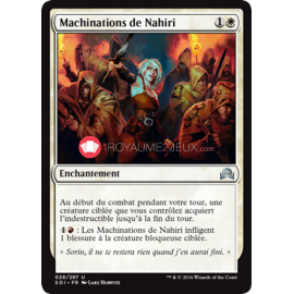 SOI-28/297 Machinations de Nahiri Nahiri's Machinations Enchantement