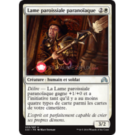 SOI-33/297 Lame paroissiale paranoïaque Paranoid Parish-Blade Créature