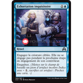 SOI-80/297 Exhortation inquisitoire Press for Answers Rituel