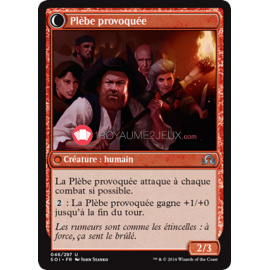 SOI-46/297 Plèbe provoquée Incited Rabble Créature