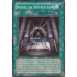 ABPF-FR058 Rituel de Destruction Magie Comunne