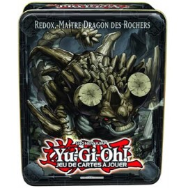 Tin Box Yu-Gi-Oh ! 2013 Redox, Maître Dragon des Rochers (Vague 2) VF