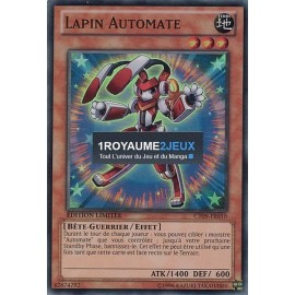 CT09-FR010 Yu-Gi-Oh ! Carte Lapin Automate
