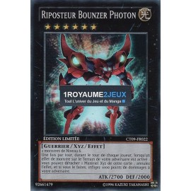 CT09-FR022 Yu-Gi-Oh ! Carte Riposteur Bounzer Photon