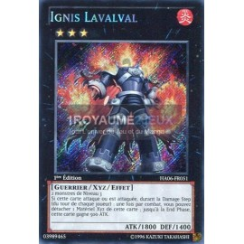 HA06-FR051 Ignis Lavalval [Secret Rare]