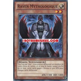 SDLI-FR020 Raven Mythologique Commune