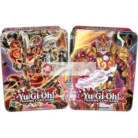 Tin Box Yu-Gi-Oh ! 2014 MEGA Tin Box Bujin + Confrérie du Poing de Feu VF