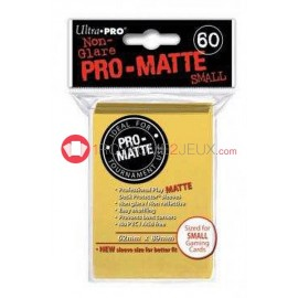 60 Pochettes Promatte - Sleeves Ultra-pro Mini Yugioh Jaune / Yellow