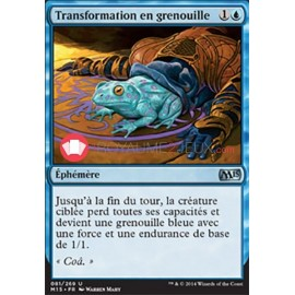 Transformation en grenouille M15-081/269