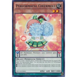 NECH-EN001 Performapal Cheermole Rare Pendulum Monster