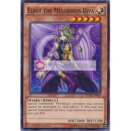 NECH-EN006 Elegy the Melodious Diva Common Effect Monster