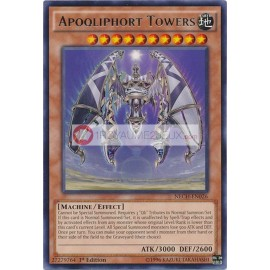 NECH-EN026 Apoqliphort Towers Rare Effect Monster