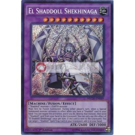 NECH-EN049 El Shaddoll Shekhinaga Secret Rare Fusion Monster
