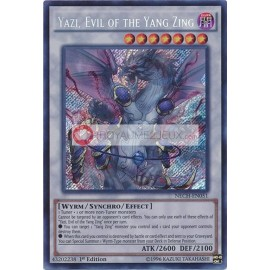 NECH-EN051 Yazi, Evil of the Yang Zing Secret Rare Synchro Monster