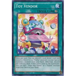 NECH-EN060 Toy Vendor Common Continuous Spell Card