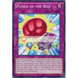 NECH-EN071 Punch-in-the-Box Common Normal Trap Card