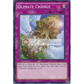 NECH-EN073 Qlimate Change Common Normal Trap Card