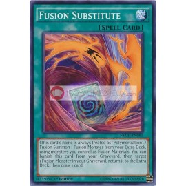 NECH-EN081 Fusion Substitute Common Normal Spell Card