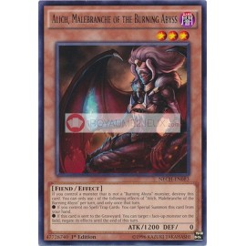 NECH-EN083 Alich, Malebranche of the Burning Abyss Rare Effect Monster