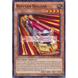 NECH-EN090 Ruffian Railcar Common Effect Monster