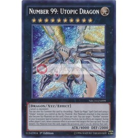 NECH-EN099 Number 99: Utopic Dragon Secret Rare Xyz Monster
